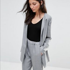 French Connection light gray blazer